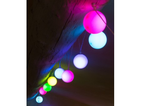 Guirlande LED lumineuse nomade intérieure multicolore INPARTY!
